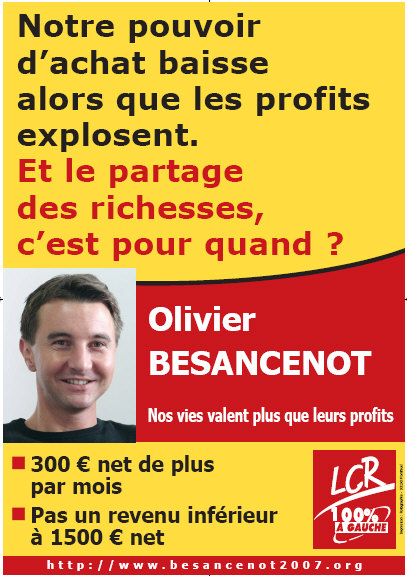 Affiches salaires 2006